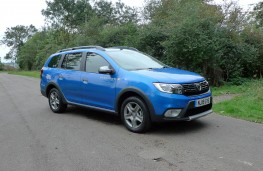 Dacia Logan Stepway, front static